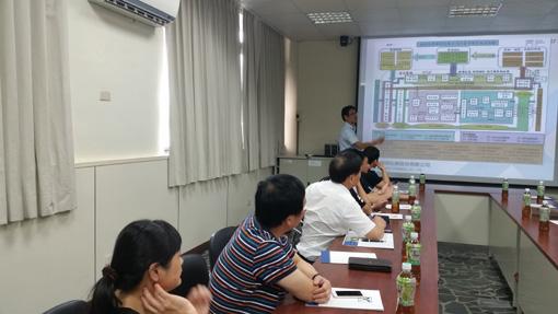 考察台湾福保化学股份有限公司